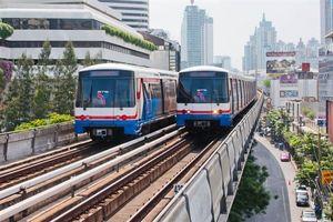 Đường sắt trên cao: 'Phương thuốc' giảm thiểu ùn tắc giao thông tại Thái Lan