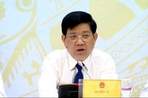 Bộ Công an: Việc 'bảo kê' chợ Long Biên là không chấp nhận được