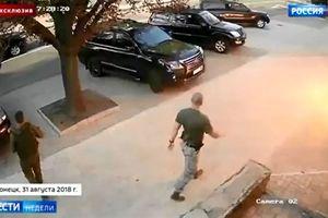 Lộ video thủ lĩnh Donetsk bị ám sát bằng bom