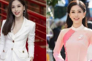 Á hậu Bùi Phương Nga trở về trường, mặc gì cũng đẹp 'đốn tim' fan