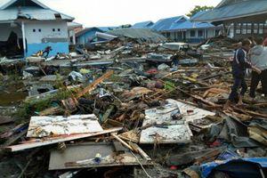 Thảm họa sóng thần và động đất ở Indonesia