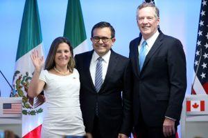 Mỹ, Mexico và Canada đạt thỏa thuận về sửa đổi NAFTA