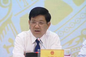 Thứ trưởng Bộ Công an nói gì vụ 'bảo kê' chợ Long Biên?