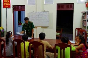 Chuyện học tiếng Anh trên huyện đảo Trường Sa
