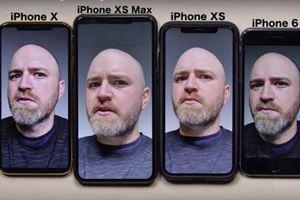 Ảnh 'tự sướng' iPhone Xs/Xs Max bị tố làm đẹp quá mức