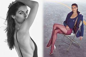Vóc dáng hoàn hảo của nàng mẫu cao 1m80 Hilary Rhoda