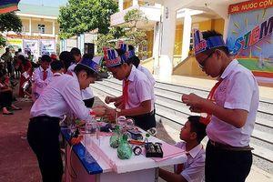 Sôi nổi ngày hội STEM 'Sáng tạo xanh' tại thị xã Quảng Yên