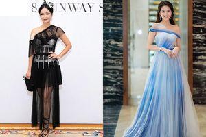 Diva Hồng Nhung bị chê mặc xấu vì bộ cánh rườm rà, Ngọc Trinh 'gây thương nhớ' với phong cách tỏa sáng lộng lẫy