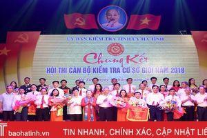 Xã Cẩm Hà nhất hội thi Cán bộ kiểm tra cơ sở giỏi tỉnh Hà Tĩnh