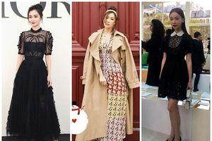 Mỹ nhân Cbiz đọ sắc ở Paris Fashion Week: Xa Thi Mạn bị chê rườm rà - Angela Baby đẹp không tì vết