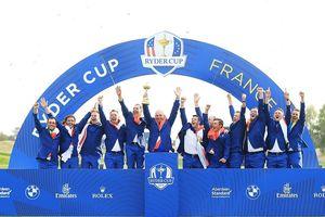 Tuyển châu Âu thắng áp đảo tuyển Mỹ, vô địch Ryder Cup 2018