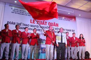 Asian Para Games 2018: Đoàn thể thao người khuyết tật Việt Nam đến Indonesia