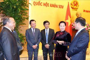 Chủ tịch Quốc hội Nguyễn Thị Kim Ngân tiếp các Trưởng cơ quan đại diện Việt Nam ở nước ngoài