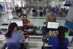 Ga Sài Gòn thông thoáng ngày đầu bán vé tàu Tết Kỷ Hợi