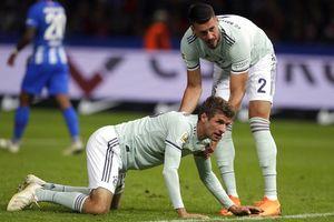 Bayern Munich gục ngã trước Hertha