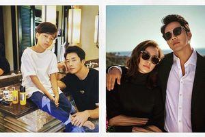 'Tài tử' Kwon Sang Woo nên vui hay buồn khi khán giả Hàn khen con trai đẹp hơn bố