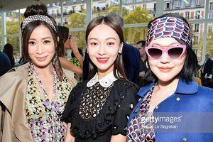 'Nhàn Phi' Xa Thi Mạn cùng Tiểu S trẻ tựa gái đôi mươi đọ sắc với Ngô Cẩn Ngôn tại 'Paris Fashion Week'