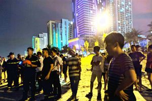 Đà Nẵng: Tắm biển đêm, một du khách Trung Quốc tử vong