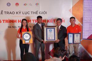 FPT nhận kỷ lục thế giới cho 31 ngày chạy xuyên Việt
