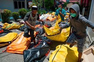 Sóng thần-động đất ở Indonesia: Thêm 2.000 người chết do nước bùn cuốn trôi