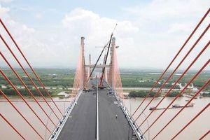 Cầu Bạch Đằng dự kiến thu phí vào đầu tháng 10-2018