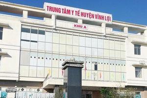 Kiến nghị kiểm điểm Ban giám đốc Trung tâm y tế huyện Vĩnh Lợi (Bạc Liêu)