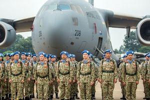 Lực lượng gìn giữ hòa bình Việt Nam lên đường làm nhiệm vụ tại Nam Sudan
