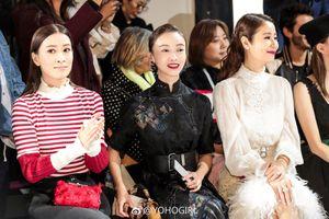 Dàn mỹ nhân cung đấu xứ Trung 'náo loạn' sàn thời trang Paris