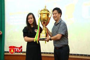 91 đội bóng tham dự Giải bóng đá học sinh THPT Hà Nội 2018