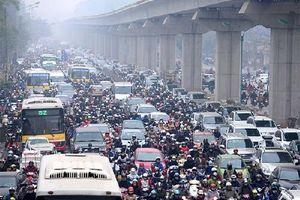 Chất lượng không khí tại Hà Nội ở mức kém