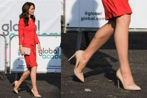 Bí quyết đi giày cao gót thoải mái của Công nương Kate Middleton