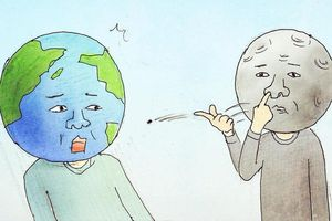 Tranh lý giải các hiện tượng tự nhiên qua góc nhìn hài hước