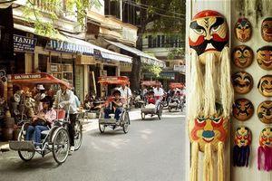 Hơn 70% du khách quốc tế tập trung vào khu phố cổ Hà Nội