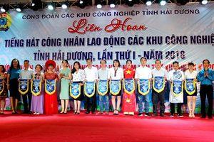 Liên hoan Tiếng hát CNLĐ chào mừng thành công Đại hội XII CĐ Việt Nam