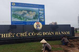 LĐLĐ tỉnh Hà Nam: Chào mừng thành công Đại hội Công đoàn Việt Nam lần thứ XII