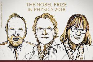 Thế giới có thêm nhà khoa học nữ thứ 3 nhận giải Nobel Vật lý