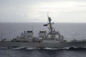 Tàu Trung Quốc bị tố áp sát nguy hiểm tàu chiến Mỹ ở Biển Đông