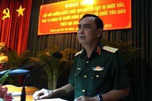 Khai mạc lớp bồi dưỡng kiến thức quốc phòng an ninh cho chức sắc tôn giáo