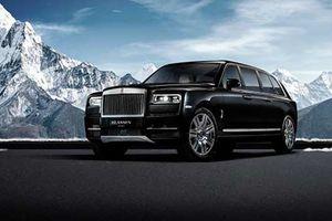 Chi tiết 'pháo đài' Rolls-Royce Cullinan bọc thép giá 49 tỷ