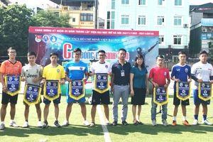 Khởi tranh Giải bóng đá sinh viên Viện Đại học Mở Hà Nội 2018