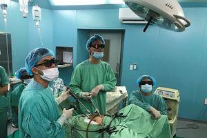 Nội soi 3D điều trị sa sinh dục nữ