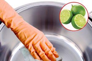 Mẹo làm sạch vật dụng hiệu quả với chanh