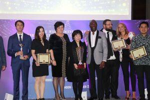 Chủ tịch AIC nhận giải thưởng quốc tế về thành phố thông minh