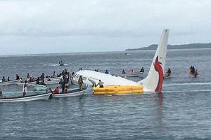 Thông tin bất ngờ vụ máy bay chở 47 người lao xuống biển