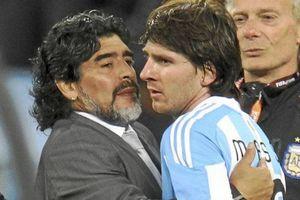 Maradona: 'Messi đừng trở lại đội tuyển Argentina'!