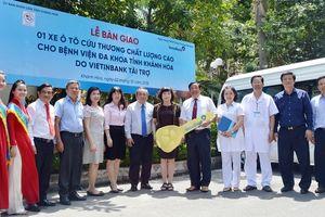 VietinBank tặng xe cứu thương chất lượng cao cho Khánh Hòa