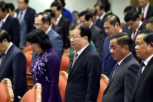 Trung ương mặc niệm nguyên Tổng bí thư Đỗ Mười, Chủ tịch nước Trần Đại Quang