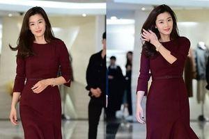 Sau 10 tháng nghỉ sinh con, 'mợ chảnh' Jeon ji Hyun khoe vóc dáng hoàn hảo cùng nhan sắc đẹp không tì vết