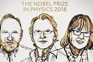 Nobel Vật Lý 2018 vinh danh 3 nhà khoa học vật lý laser