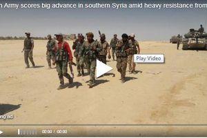 Clip: Mặc IS kháng cự ác liệt, quân đội Syria vẫn thắng lớn ở Al-Safa